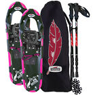 Redfeather Hike Women's Snowshoe Kit