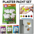 Children Plaster Colouring Kit Toy Decor Craft Paint Art Set Kids Christmas Gift