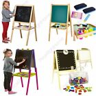 KIDS EASEL CHALK DRAWING BOARD DOUBLE SIDED AGE 3+ CHILDRENS PAW PATROL + MORE