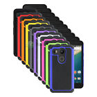 Hybrid Rugged Rubber Protector Matte Hard Case for Android LG Google Nexus 5X