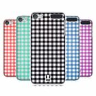 HEAD CASE DESIGNS PATTERN GINGHAM COVER RETRO RIGIDA PER APPLE iPOD TOUCH MP3