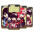 HEAD CASE DESIGNS RAGAZZE KIMONO COVER RETRO RIGIDA PER APPLE iPOD TOUCH MP3