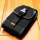 For NEW APPLE iPhone 6/6S Nylon Heavy Duty Holster Clip Pouch Cover Case Black