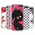 HEAD CASE DESIGNS GATTI A POIS COVER MORBIDA IN GEL PER APPLE iPOD TOUCH MP3