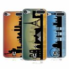 HEAD CASE DESIGNS SKYLINE COVER MORBIDA IN GEL PER APPLE iPOD TOUCH MP3