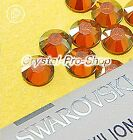 GENUINE Swarovski Copper (COP) Crystal (No hotfix) Flat back Rhinestones Gems