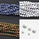 Lots Semi Precious Gemstone Rounds Beads for Jewellery Making Size 4/6/8/10/12mm