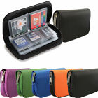 CF/SD/SDHC/MS/DS MEMORY CARD STORAGE BAG POUCH CASE COVER HOLDER WALLET TRAVEL