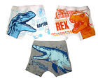 JURASSIC WORLD set of 3 kids cotton boxer briefs underwear M-XXL 4-10y Free Ship