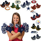 Wincraft NFL Spirit Fingerz Pom-Poms Gloves Embroidered Football Team Knit Sport