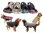 SMALL to EXTRA LARGE dog waterproof warm 2 in 1 coat jacket clothes reversible