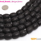 Volcanic Lava Rock Stone Beads For Jewelry Making 15'' Jewelry Beads in Lots