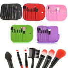 New 7pcs Makeup Brushes Cosmetic Set Powder Foundation Eyeshadow Brush Tool case