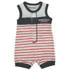 Timberland Babies Girls Boys Sleeveless All In One Cotton Romper T9498 626 RS