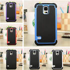 Shockproof Hybrid Rubber Silicone Protective Case Cover for Samsung Galaxy S5