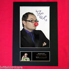 ALAN CARR Mounted Signed Photo Reproduction Autograph Print A4 180