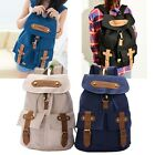 Fashion Women' Vintage Canvas Satchel Backpack Rucksack Shoulder School Bag A2