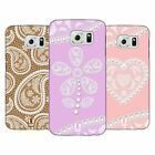 HEAD CASE DESIGNS LACES AND PEARLS 2 HARD BACK CASE FOR SAMSUNG PHONES 1
