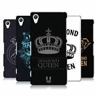 HEAD CASE DESIGNS DIAMONDS HARD BACK CASE FOR SONY PHONES 2