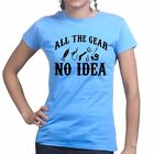 All The Fishing Gear Carp Tackle Sea Rod Bait New Fly Line Ladies Womens T shirt