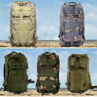 New Outdoor Military Tactical Backpack Rucksacks Camping Hiking Trekking Bag 30L