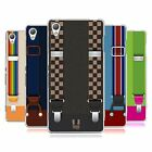 HEAD CASE DESIGNS SUSPENDERS SET 2 SOFT GEL CASE FOR SONY PHONES 1