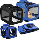 Dog Crate Soft Sided Pet Carrier Foldable Training Kennel Portable Cage House