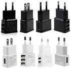 5V 2A 1/2/3-Port USB Wall Adapter Charger US/EU Plug For Samsung  S5 S6 iPhone 5