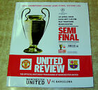 2008 CHAMPIONS LEAGUE SEMI FINAL - MANCHESTER UNITED v BARCELONA