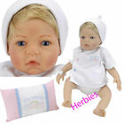 Lee Middleton Newborn Nursery Wee Wonder Tiny Love Blonde Hair, Blue Eyes