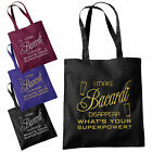 I Make Bacardi Disappear Tote Bag - Funny Superpower Fashion Shopping Bags Totes