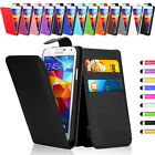 Flip Wallet Leather Case Cover For Samsung Galaxy Models Free Screen Protector