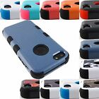 FOR APPLE IPHONE PHONES SHOCK PROOF TUFF RUGGED CASE PROTECTIVE COVER+STYLUS