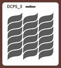 Scrapbook Decoupage Stencil Seamless Abstract 5 sizes available 0,35mm DCPS3