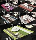 Fashion Simple Tableware Placemats Insulation Place Mats Table Coasters Kitchen
