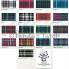 Berisfords Scottish Tartan Ribbon 25mm,40mm,70mm Choose Pattern, Width & Length