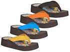 FLY LONDON BUMPER CASUAL WEDGE PLATFORM TOE POST FLIP FLOPS SANDALS SIZES 35-42