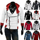 Stylish Creed Hoodie men's Cosplay For Assassins Cool Slim Jacket Costume