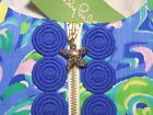 New Lilly Pulitzer CATHY SHIFT DRESS Sea Blue Lilly's Lagoon 4 6 10 12 14 NWT