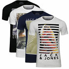 JACK & JONES HERREN T-SHIRT DAME TEE Gr.S,M,L,XL