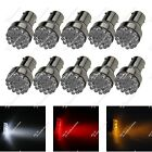 10X 1156 1141 19 In-line LED Turn Signal Light Tail Lamps Reverse Bulb Car ZD027