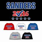 Sanders Checkbox Election President Dog Shirt Pet Puppy Clothes Apparel Tee