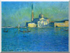 San Giorgio Maggiore Claude Monet Stretched Wall Art Print Painting Reproduction
