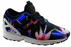 Adidas Originals ZX Flux NPS Mens Trainers Running Shoes Lace Black B34467 U113