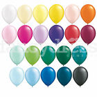Pack of 6 Qualatex Latex Balloons Pastel Radient Colours All Sizes Helium NEW