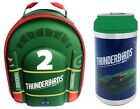 OFFICIAL THUNDERBIRDS TB2 3D EVA LUNCH BAG OR CAN BOTTLE OR SET SCHOOL KIDS NEW