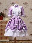 Victorian Princess Dress Lolita Cosplay Steampunk Punk Theater Clothing 229