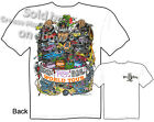 Rat Fink T shirt, Big Daddy Ed Roth Clothing, World Tour Tee, Sz M L XL 2XL 3XL
