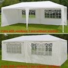 10'X20' Wedding Party Tent Easy Set Gazebo BBQ Pavilion Canopy Outdoor