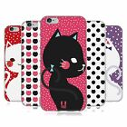 HEAD CASE DESIGNS CATS AND DOTS SOFT GEL CASE FOR APPLE iPHONE 6 6S